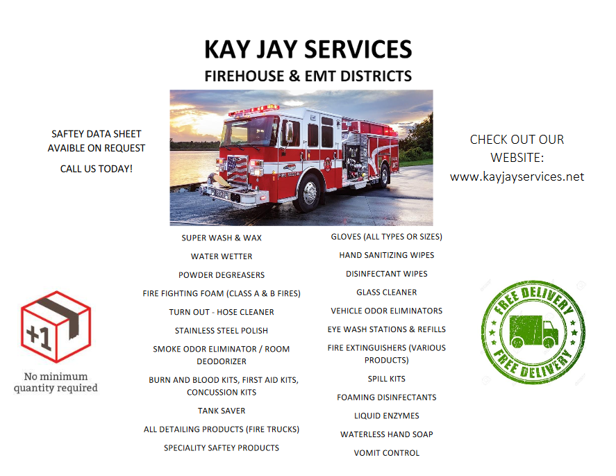 Fire Dept. & EMS Flyer