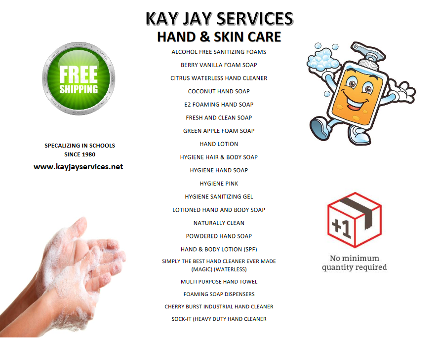 Hand & Skin Care Flyer