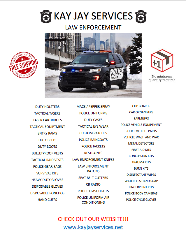 Law Enforcement Flyer